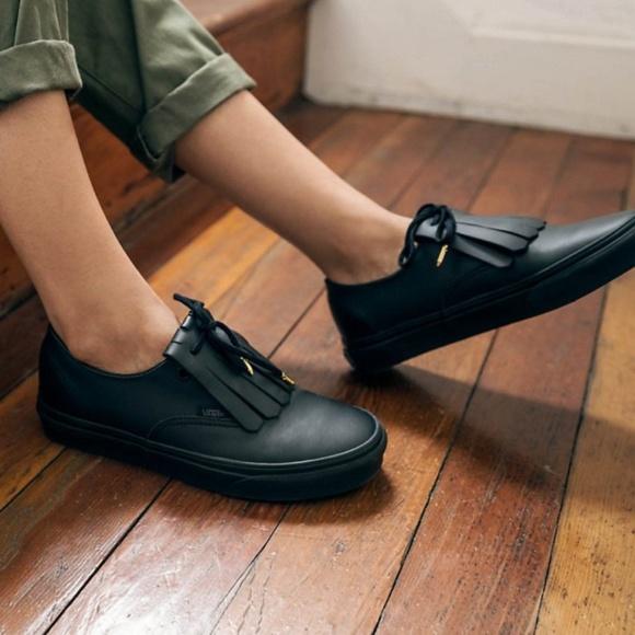 Vans Shoes   Nwot Vans Authentic Fringe